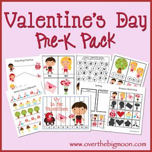 VDayButton 300x300 20 Valentines Days Activities for Kids Roundup