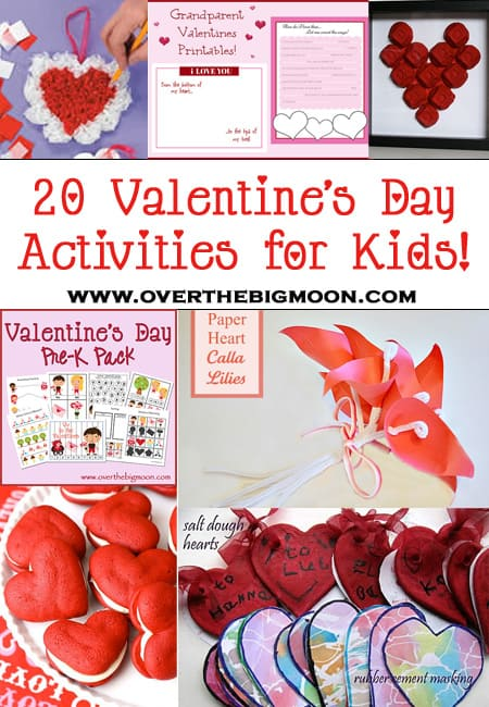 VdayButton 20 Valentines Days Activities for Kids Roundup