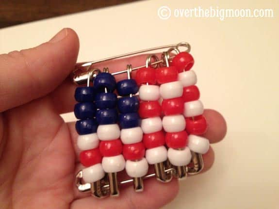 done American Flag Neckerchief Slide   Cub Scouts