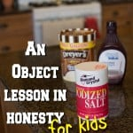 An Object Lesson in Honesty for Kids from www.overthebigmoon.com!