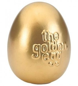 The Golden Egg and 10+ other fun Easter Egg Hunt Ideas! From overthebigmoon.com!