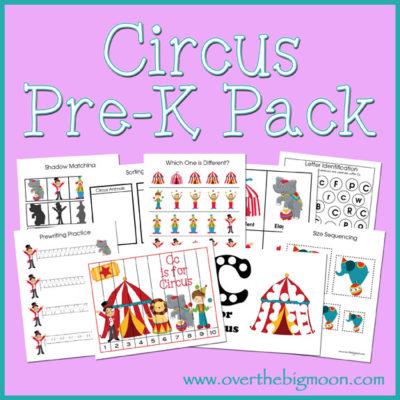 Circus Pre-K Pack