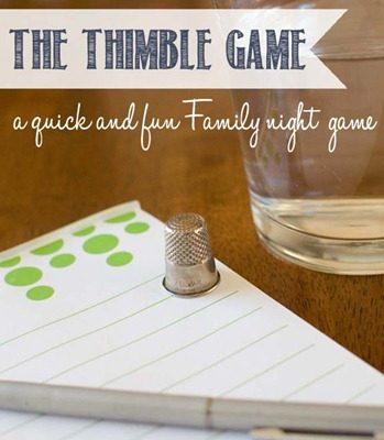 The Thimble Game