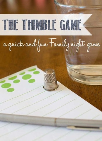 button thumb2 The Thimble Game!