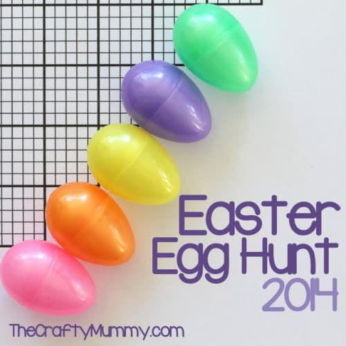 Easter Egg Hunt w/ Clues and 10+ other fun Easter Egg Hunt Ideas! From overthebigmoon.com!