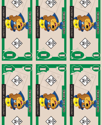 Cub Buck Free Printable