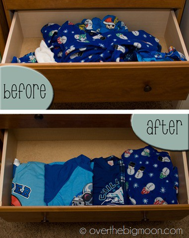 Jammies before and after