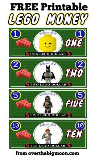 Lego money button
