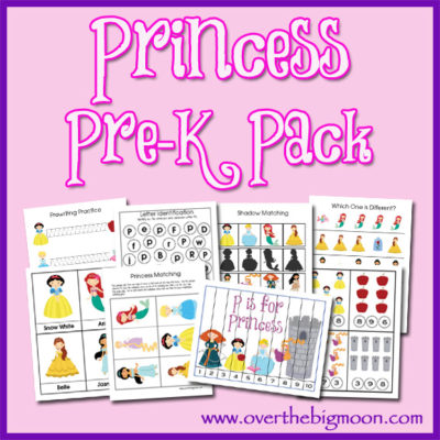 Princess Pre-K Pack