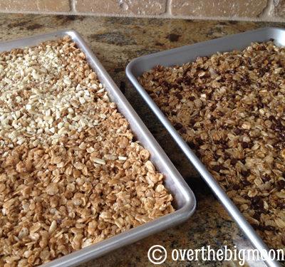 Easy Soft & Chewy Homemade Granola Bars