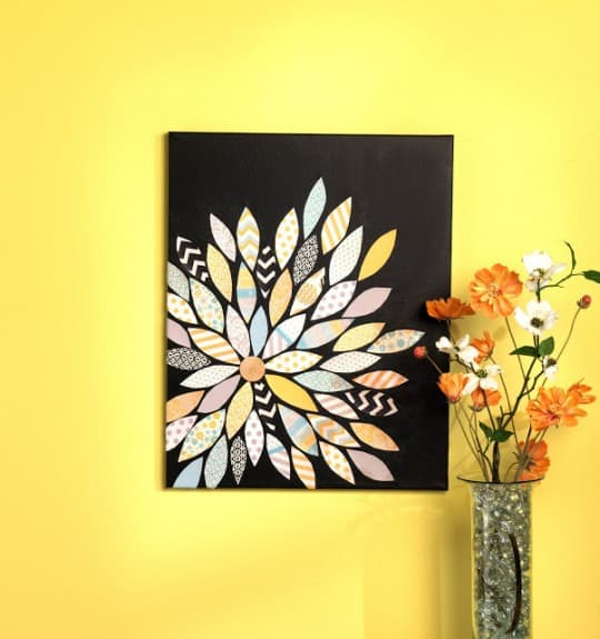 20 DIY Canvas Art Tutorials