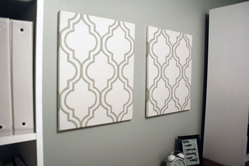 Adventures in Dressmaking: Easiest DIY canvas wall artwork... Awesome ... - Diy Canvas Wall Art