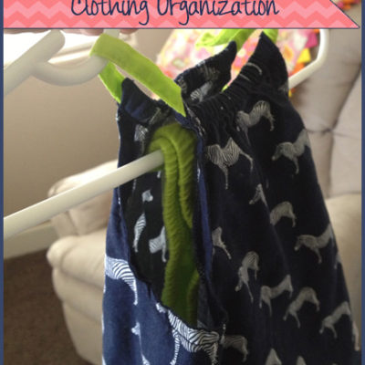 Clothing Organization Tip