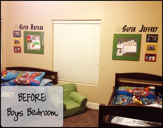BeforeBoysBedroom Room Changes = To Do Projects, Projects, Projects
