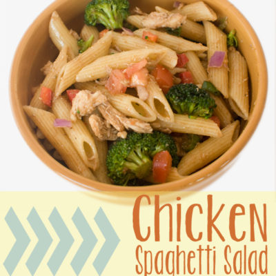 Chicken Spaghetti Salad