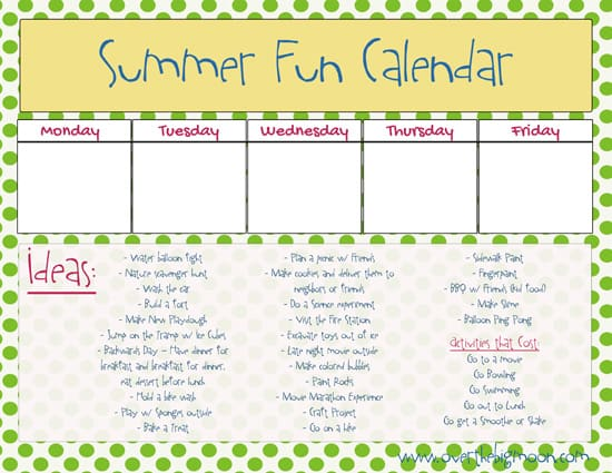 SummerFunCalendar1