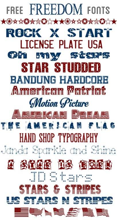 free freedom fonts