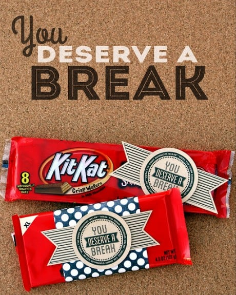 kit kat teacher gift end of school 2 460x575 Menus this Week and Pinterest Interests 6.1.13