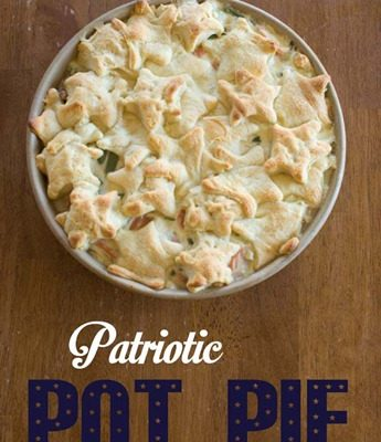Patriotic Pot Pie
