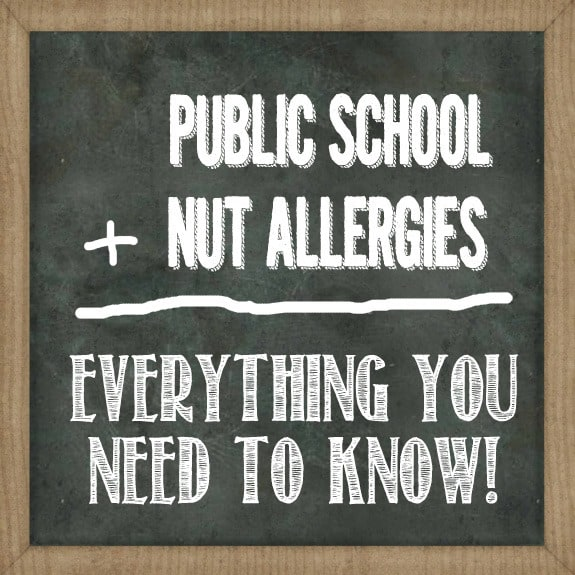Navigating The Public School System With A Peanut Allergy