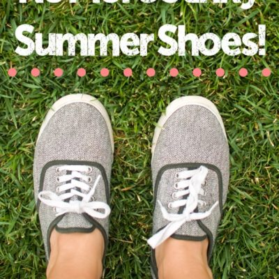 No More Stinky Summer Shoes