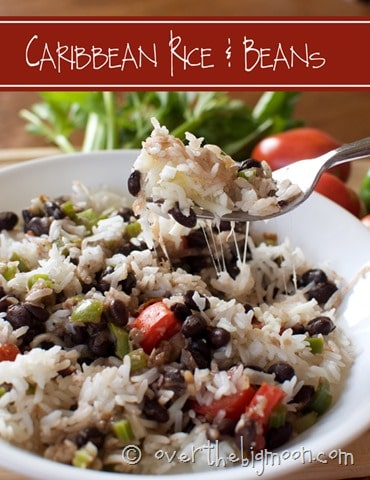 Caribbean Rice and Beans 11