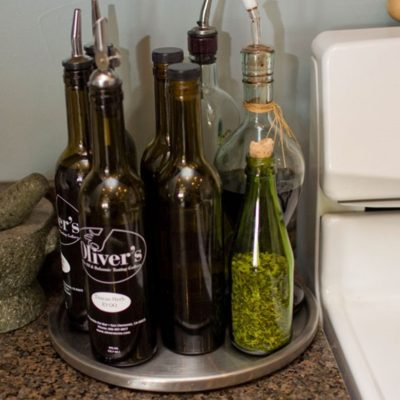 Organizing Oils and Vinegar