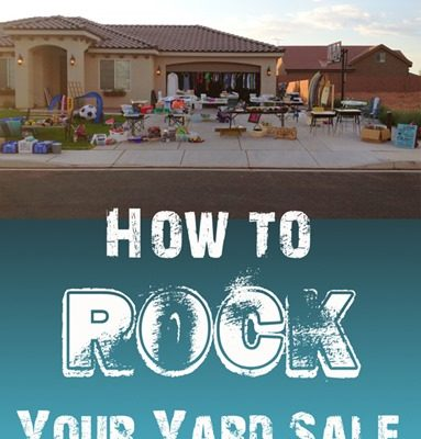 How to Rock your Yard Sale