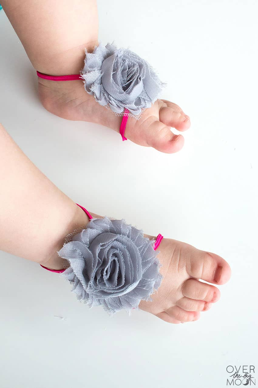 f0f13399f9a9 Baby feet are the best and these Baby Barefoot Sandals only make them  cuter! From