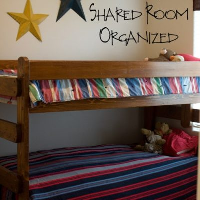 Secrets to Keeping a Shared Room Organized