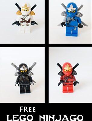 Lego Ninjago Free Art Printables