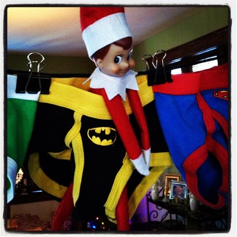 Elf On The Shelf has been around for a while now and it still makes me laugh when I see people posting pictures of what their Christmas Elf On The Shelf has been up to. Some are really really funny. Some are really really funny.
