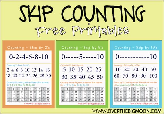 skip-counting