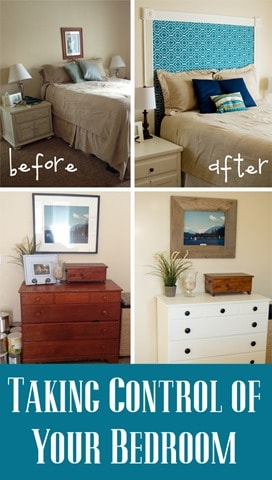 taking control of your bedroom
