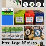 Ninjago Birthday Pack
