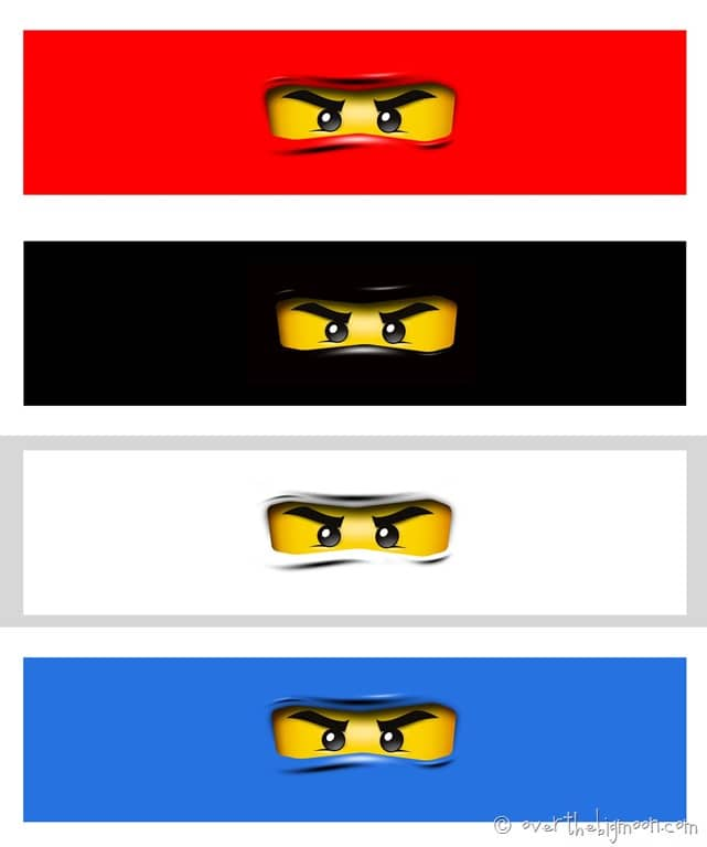 Over The Big Moon Ninjago Birthday Party with Free Printables – Ninjago Party Invitations