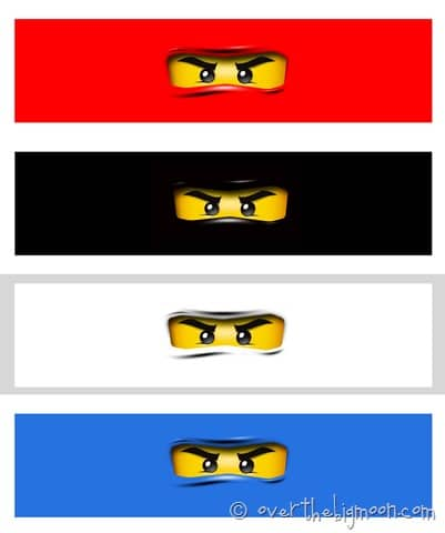 Ninjago waterbottle thumb Ninjago Birthday Party with Free Printables