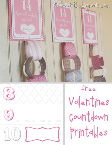 Valentines countdown button thumb Free Printable Valentines Countdown
