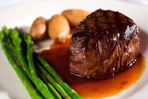 grilled filet mignon Kid Friendly Valentines Day Menu Ideas!