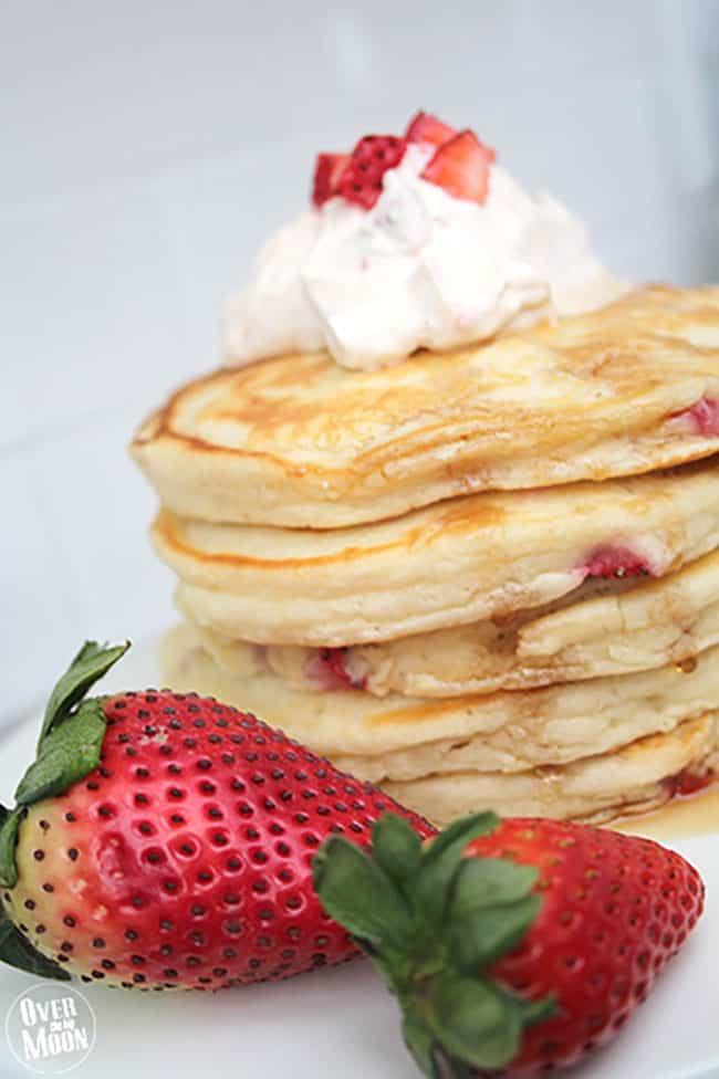 Strawberry Pancakes - so yummy!
