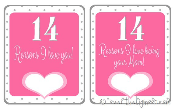 valentines topper thumb Free Printable Valentines Countdown
