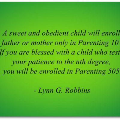 Parenting 505
