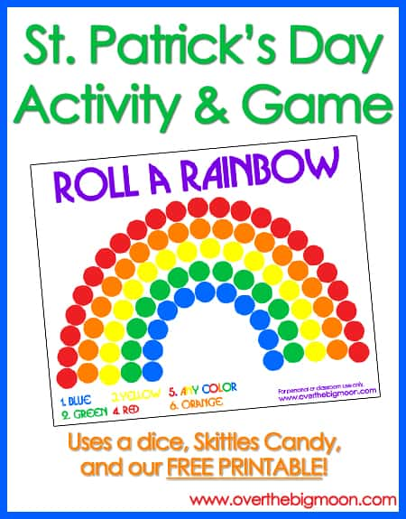 Roll A Rainbow Button 5 Easy St. Patricks Day Traditions