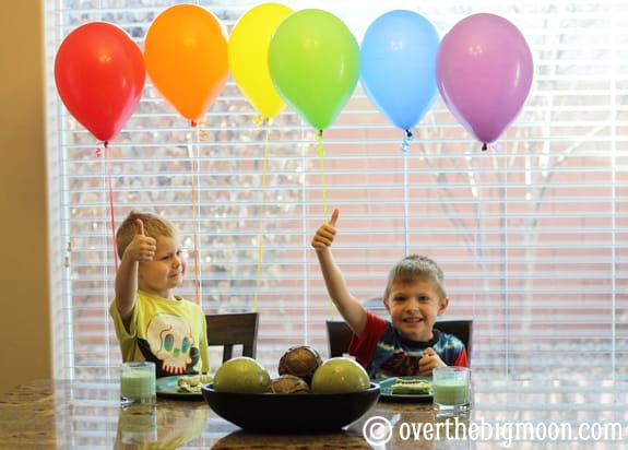 rainbow balloons 5 Easy St. Patricks Day Traditions