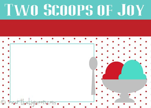 two scoops of joy invite