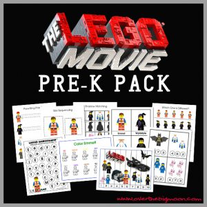 Lego Movie Button 300x300 Lego Movie Pre K Pack