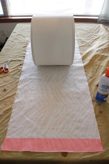 roll shade back