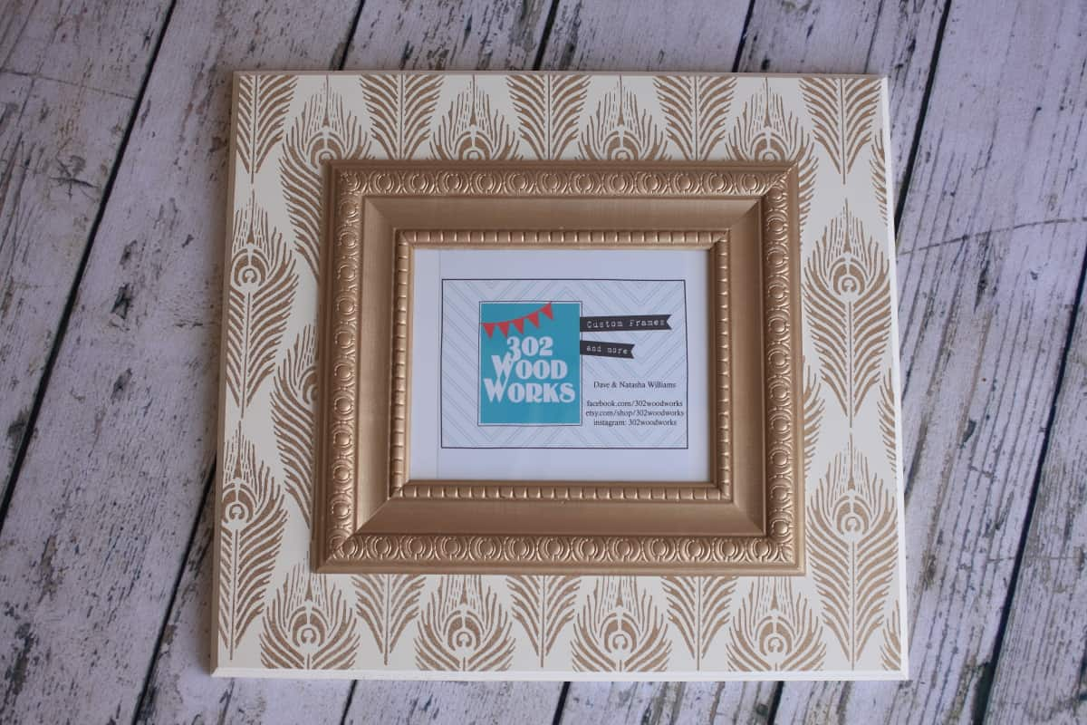 etsy picture frames images craft decoration ideas 100 etsy giftcard and 302 wood works frame giveaway - Etsy Picture Frames