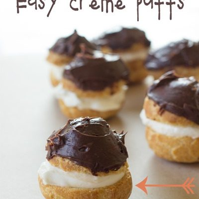 Simple Cream Puffs