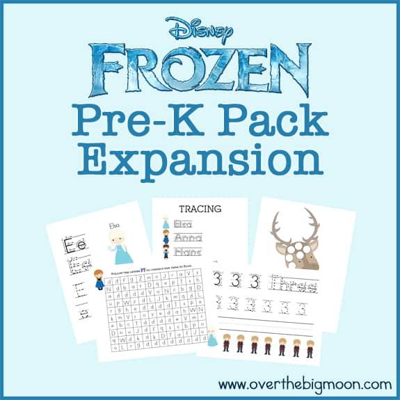 Frozen Exp Button Frozen Pre K Pack Expansion